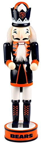 Chicago Bears Official NFL 14 inch 14″ Christmas Holiday Nutcracker