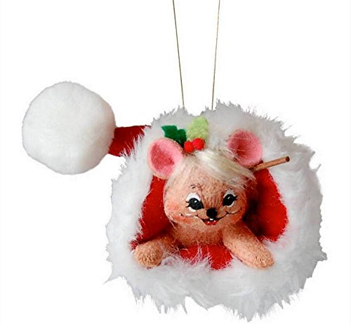 2014 Annalee Dolls 3″ Mouse in Santa's Hat for Christmas