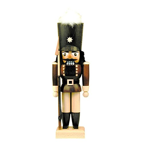 "32-624 – Christian Ulbricht Mini Nutcracker – Soldier – 11.5″""H x 4″""W x 3″""D"