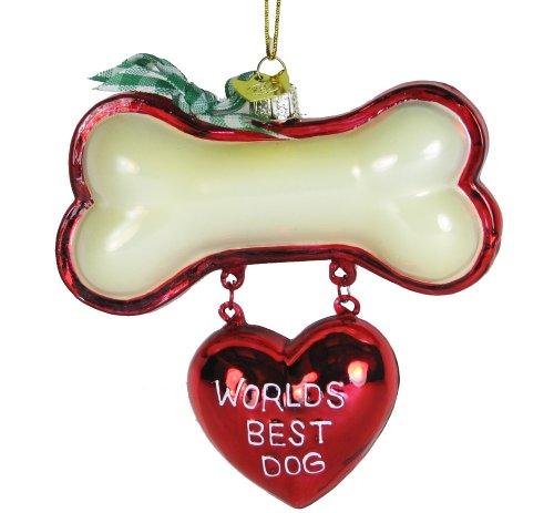 Kurt Adler Noble Gems Best Dog, Christmas Ornament