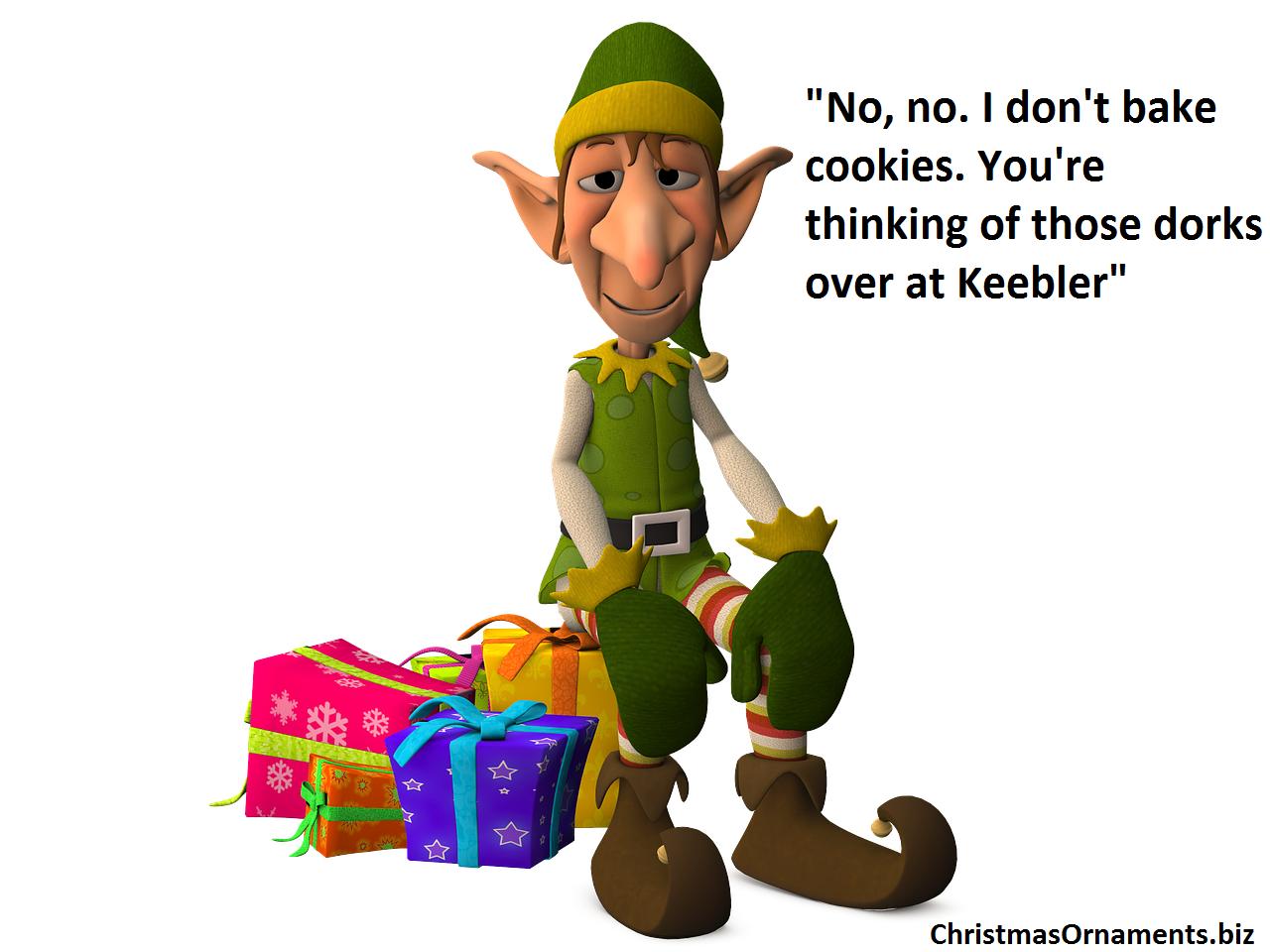 Christmas Memes Elf.Christmas Funny Joke Meme Elf Christmas Ornaments Top