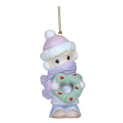 Precious Moments All Wrapped Up In the Season Ornament