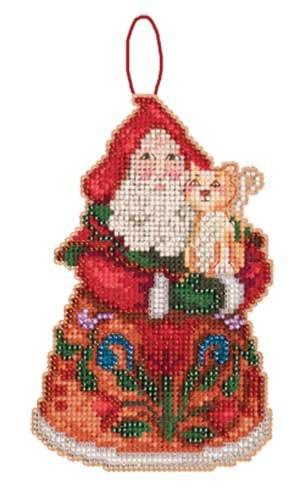 Jim Shore Purrfect Santa Ornament