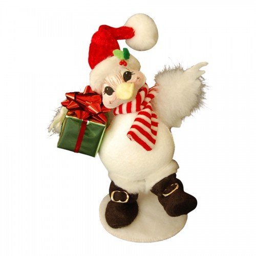2014 Annalee Dolls 6″ Snowbird for Christmas, Posable