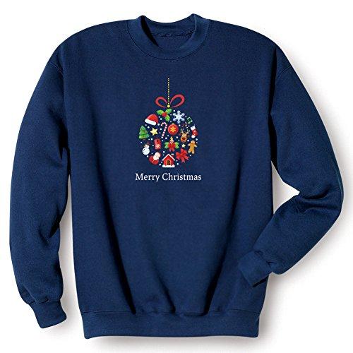 Christmas Ornament Sweatshirt – Medium