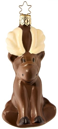 Chocolate Moose, #1-105-09, by Inge-Glas of Germany