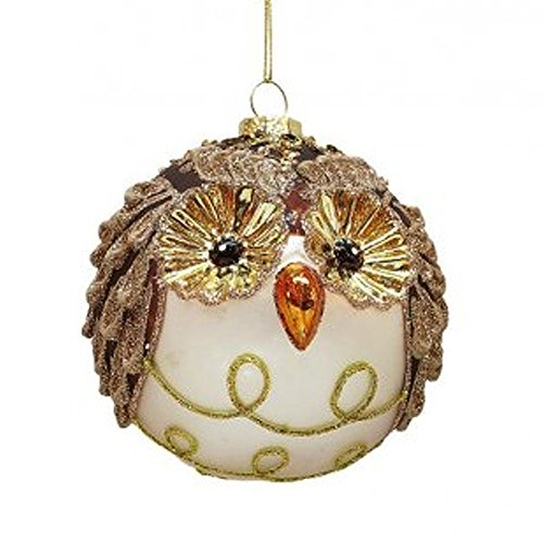 Festive Owl Christmas Ornament 36-43846-A Mark Roberts