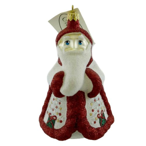 Mattarusky SNOWFLAKE SANTA M129 Ornament Christmas Tree New