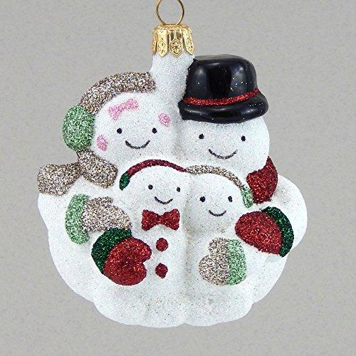 Mattarusky Family Gathering Glittered Glass Ornament