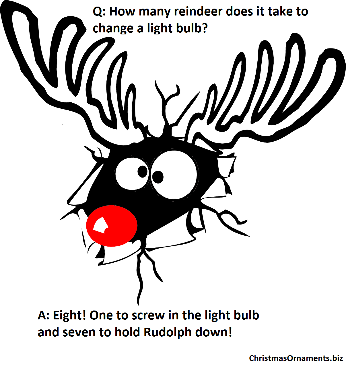 Christmas Joke Meme – Rudolph The Red-Nosed Reindeer