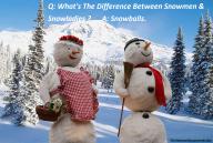 Christmas Joke Meme – Snowmen & Snowladies