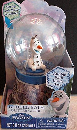 Bubble Bath Glitter Globe (Disney Frozen Anna Elsa Olaf)