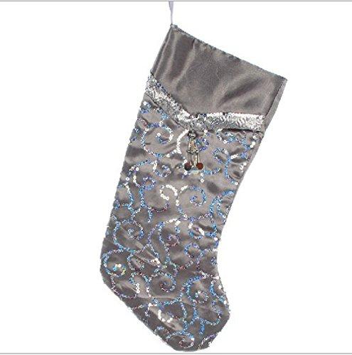 Happy Holiday Christmas Santa Socks Chiristmas Decorations Ornaments Costume Stocking(L3-7A)