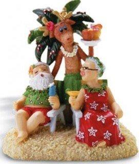 Hawaiian Christmas Ornament Holiday Hour