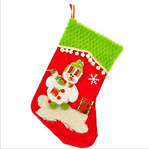 Happy Holiday Christmas Santa Socks Chiristmas Decorations Ornaments Costume Stocking(V3-11A)