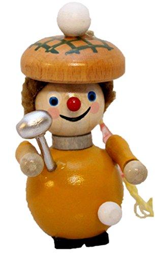 Retired Steinbach Golfer German Wooden Christmas Ornament