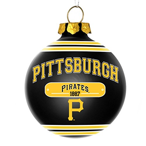 Pittsburgh Pirates Official MLB 2014 Year Plaque Ball Ornament