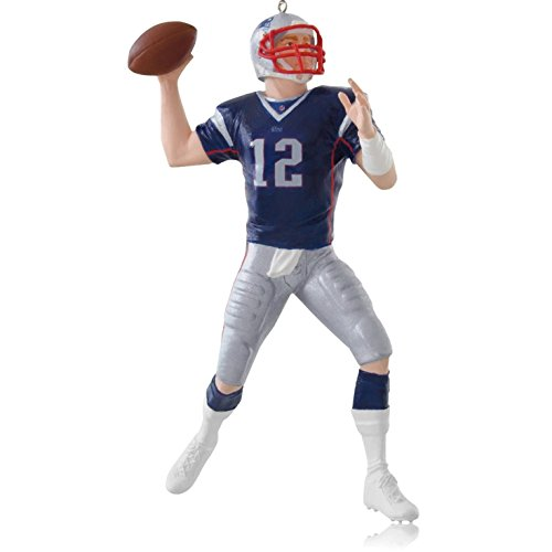 Hallmark 2014 Tom Brady New England Patriots Ornament