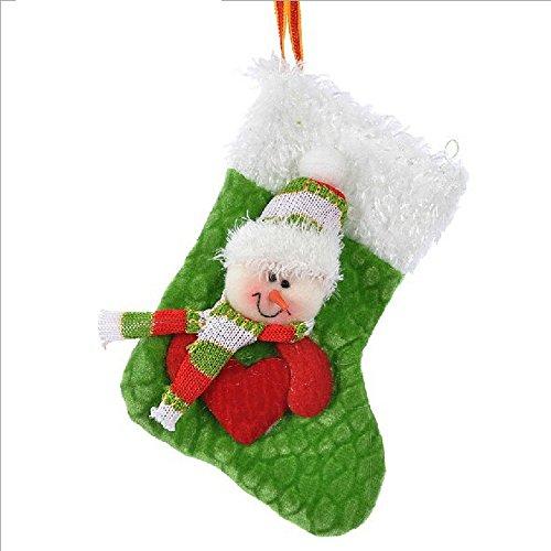 Happy Holiday Christmas Santa Socks Chiristmas Decorations Ornaments Costume Stocking (O4-10B)