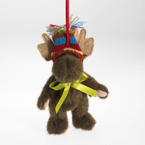 Boyds Bears Frostberg Fashion Family Plush Ornament – Farley Moose 5″