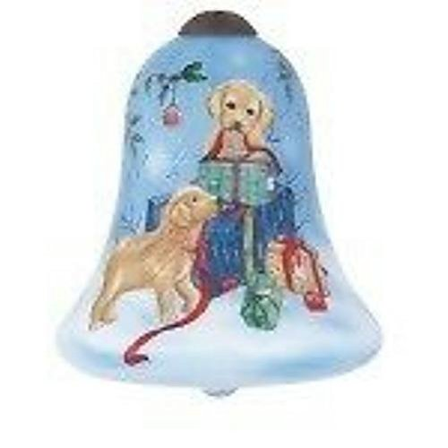 Ne'Qwa Pups' Snow Day Ornament