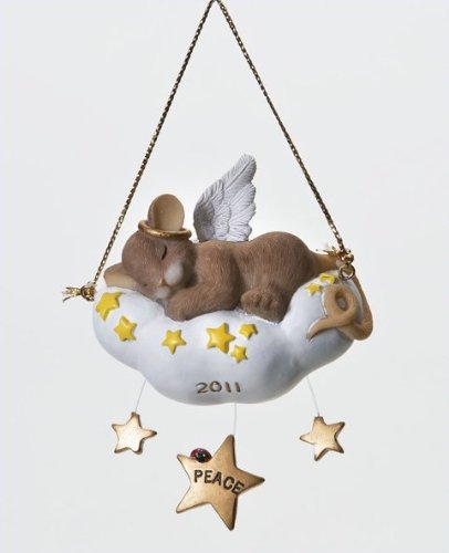 Enesco Charming Tails Sleep in Heavenly Peace Ornament