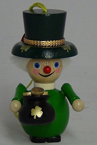 Steinbach Ornament Irish Saint Patrick Leprechaun w/ Pot of Gold