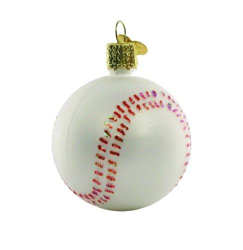 Old World Christmas Baseball Ornament