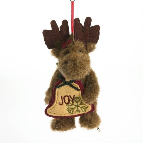Enesco Boyds Plush 5-Inch Traditional Holiday Ornament