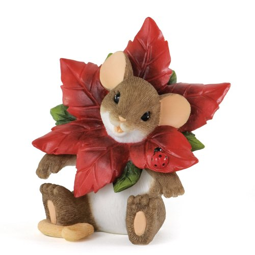 Enesco Charming Tails You Make The Season Bloom Figurine, 2.75-Inch