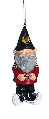 Gnome Ornament, Chicago Blackhawks