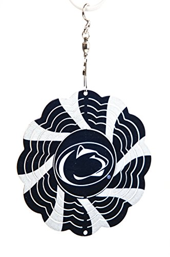 Pennsylvania State University Geo Spinner Christmas Ornament