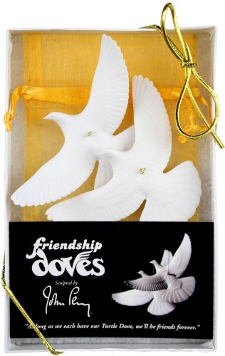 Set of 2 Turtle Dove Ornaments – As Seen in Home Alone 2