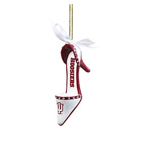 Indiana Hoosiers Official NCAA 3 inch x 1.5 inch Team Shoe Ornament