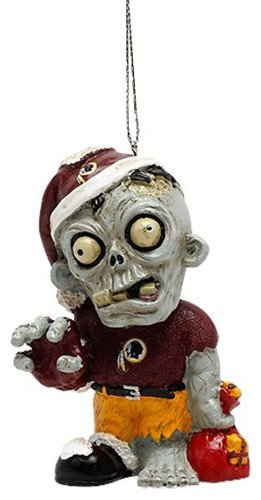 Washington Redskins NFL Zombie Christmas Ornament