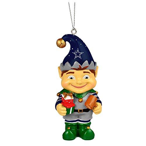 NFL Dallas Cowboys Elf Team Christmas Ornament – 3″