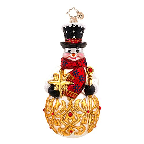 Christopher Radko Frosty Finial Christmas Ornament
