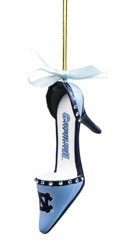 North Carolina Tar Heels Official NCAA 3 inch x 1.5 inch Team Shoe Ornament