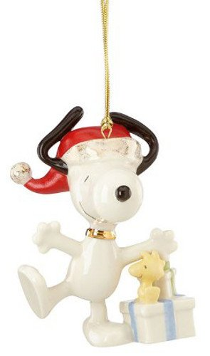 Lenox Christmas Morning Snoopy Ornament
