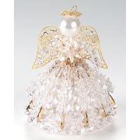 Birthstone Angel Ornament Bead Kit – April Diamond