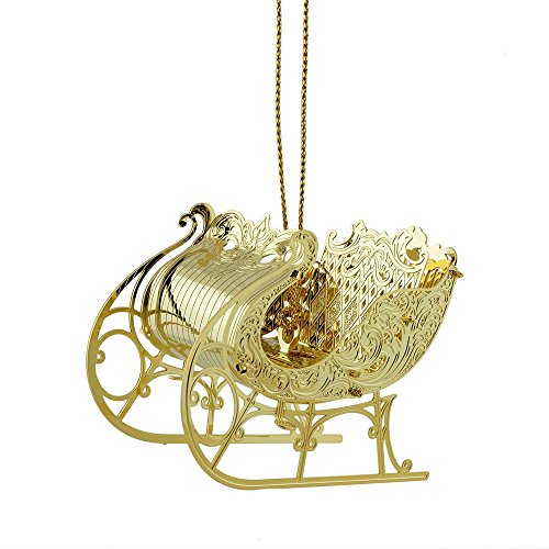 ChemArt Christmas Sleigh Ornament