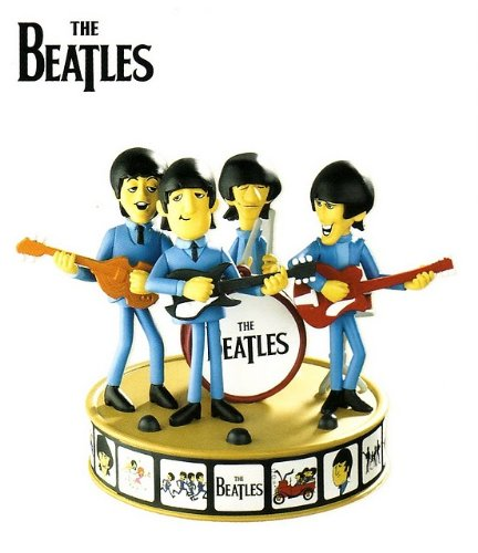 The Beatles In Blue Suits 2010 Carlton Heirloom Ornament