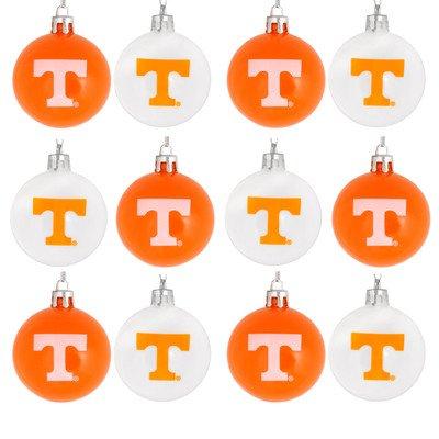 NCAA Ball Ornament (Set of 12) NCAA Team: Tennessee