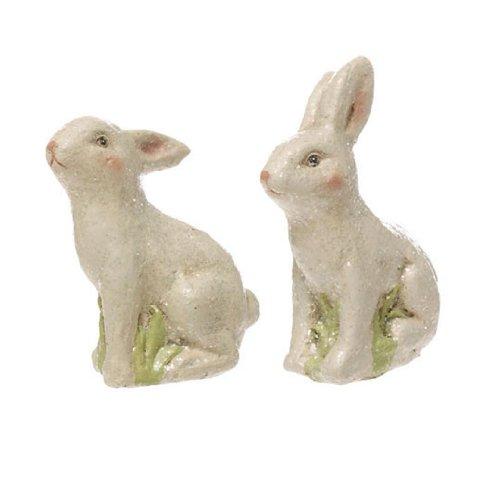 RAZ Imports – 4.5″ Bunnies (Set of 2)