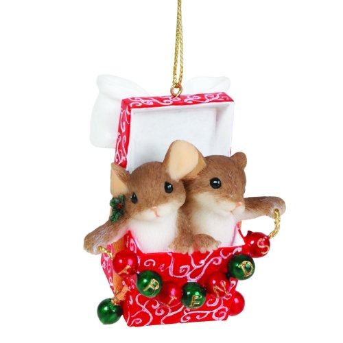 Charming Tails Friends, Everyone's Favorite Gift Ornament