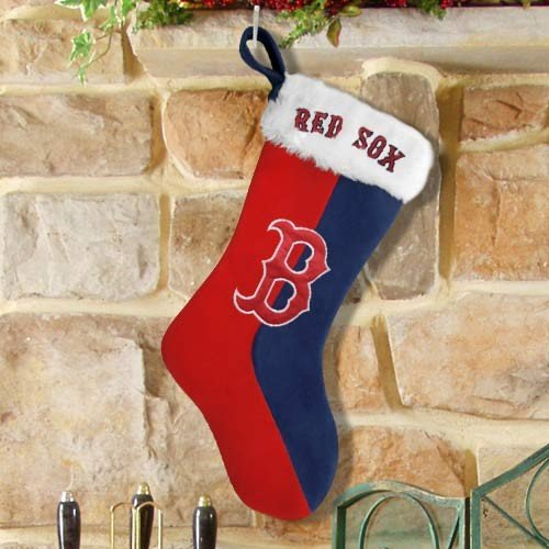 Forever Collectibles MLB Boston Red Sox Colorblock Stocking