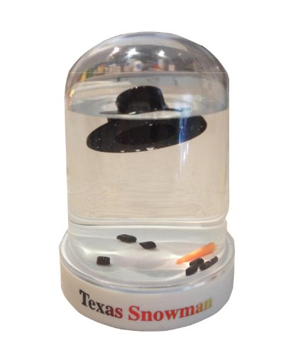 The Original Melted Snowman Snowglobe – Texas Snow Globe
