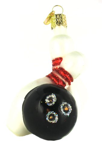 Old World Christmas Bowling Ball & Pins Ornament