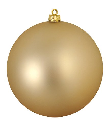 Vickerman Ball Ornament, 250mm, Champagne