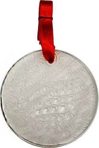 Lalique 2001 Christmas Ornament